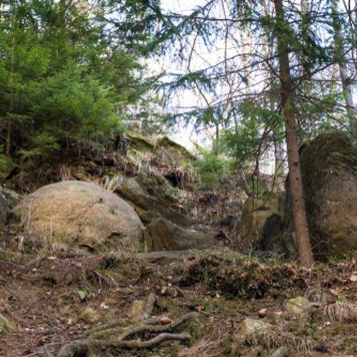 Kamenné gule v Megoňkách