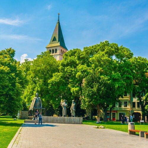 Námestie SNP v Bratislave