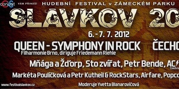 Hudobný festival Slavkov! Queen - Symphony in Rock, Markéta Poulíčková a ďalší