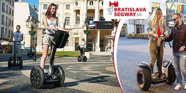 Jazda po Bratislave na SEGWAY