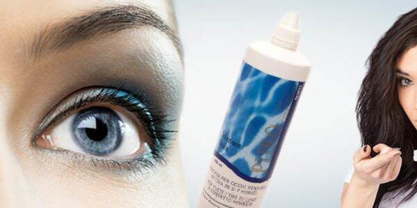Roztok na kontaktné šošovky a vyšetrenie očným lekárom