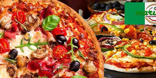 Dve chrumkavé pizze za cenu jednej