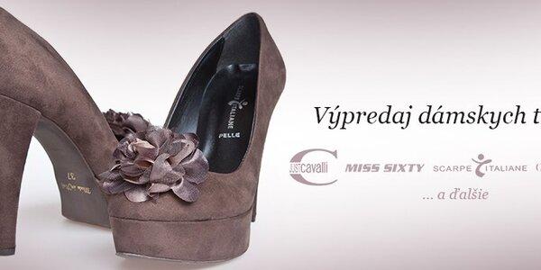 Výpredaj dámskych topánok
