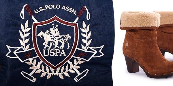Dámske a pánske topánky US Polo