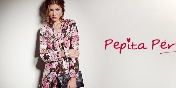 Španielska móda Pepita Peréz - etno, hippie a romantické potlače