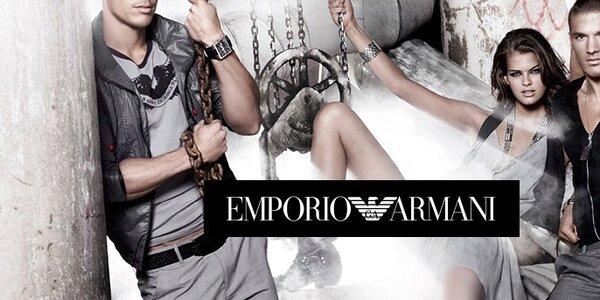 Emporio Armani - dámske a pánske oblečenie a doplnky
