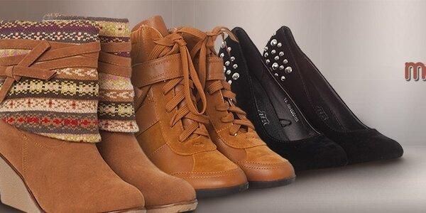 Dámske topánky Moow