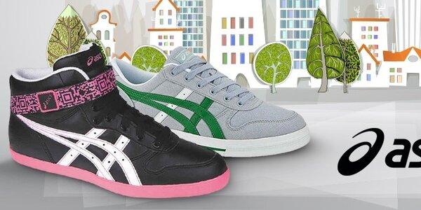 Pánske a dámske topánky Asics