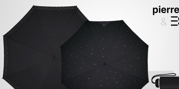 Dáždniky Esprit a Pierre Cardin