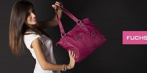 Dámske kabelky a peňaženky Fuchsia - nechajte rozkvitnúť svoj nový zimný outfit