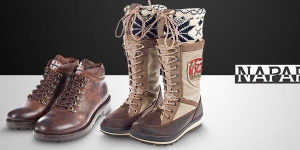 Dámske a pánske topánky Napapijri