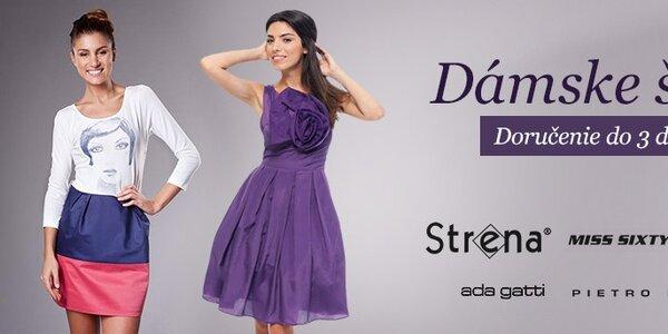 Dámske šaty Miss Sixty, Ada Gatti, ByLu a Strena