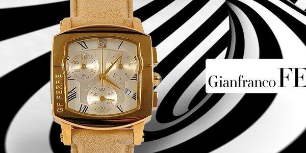Luxusné dámske hodinky Gianfranco Ferré - ušľachtilé materiály a neopakovateľný dizajn