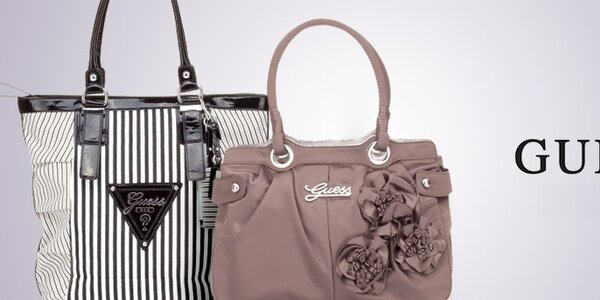 Guess - značkové kabelky, tašky a doplnky