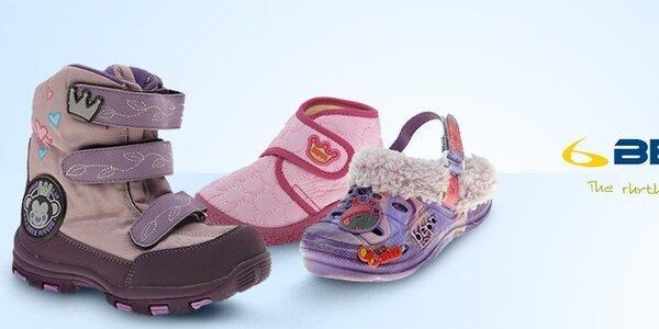Detská obuv Beppi - nápadité štýly, kvalitné materiály a pohodlné strihy