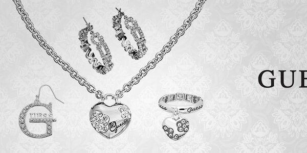 Guess - originálne dámske oceľové šperky