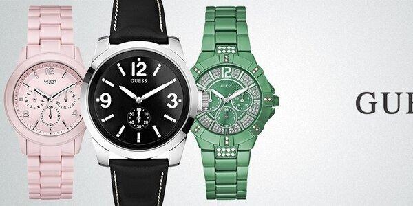 Štýlové hodinky Guess