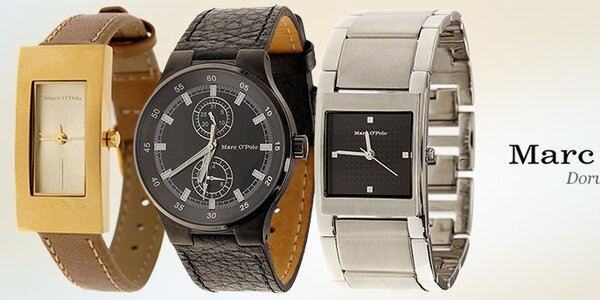 Dámske a pánske hodinky Marc O'Polo