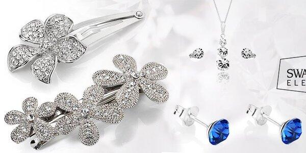 Dámske šperky Swarovski Elements - luxusný rad Diamond Style