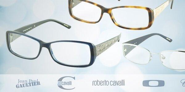 Dioptrické okuliare svetových značiek