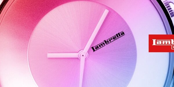 Lambretta - farebné designové hodinky