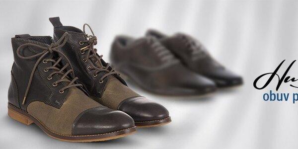 Hudson - pánska designová obuv