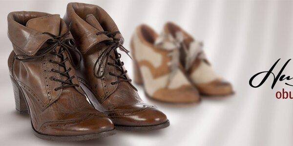 Hudson - kvalitná dámska kožená obuv