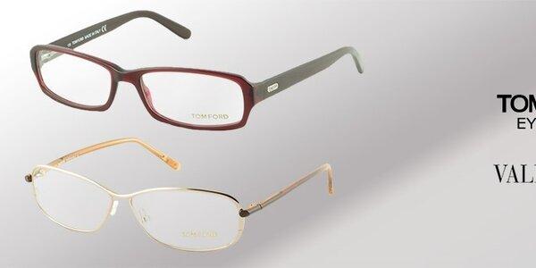 Dioptrické okuliare Tom Ford a Valentino