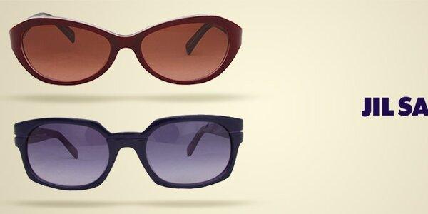 Slnečné okuliare Jil Sander - obľúbený retro štýl a farebné obrúčky