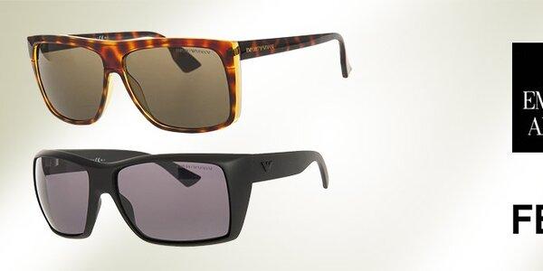 Luxusné slnečné okuliare Emporio Armani a Fendi