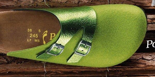 Papillio - farebná ortopedická obuv s anatomicky tvarovanou stielkou