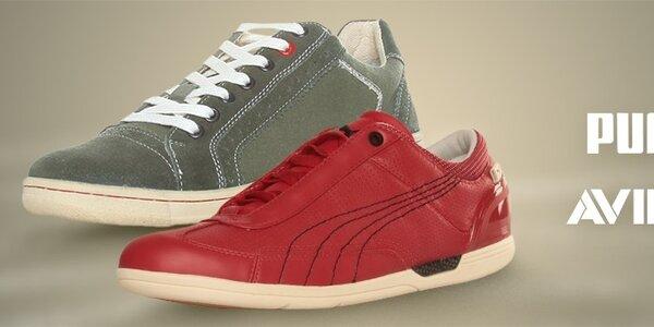 Puma a Avirex - štýlová obuv pre mužov a ženy