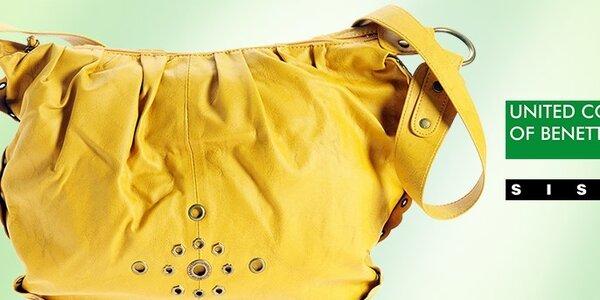 Dámske kabelky Benetton a Sisley - originálny design za super cenu