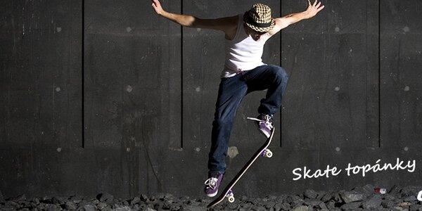 Skate topánky DC, Lakai, DVS a O'Neill