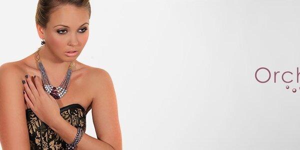 Dámske perlové šperky Orchira - v štýle Miss Universe