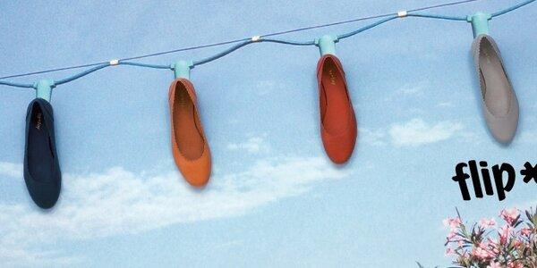 Dámske topánky a kabelky Flip Flop
