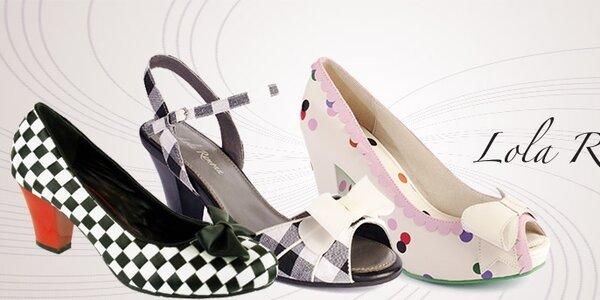Dámske topánky Lola Ramona - roztancuje sa v rytme amerického rock'n'rollu
