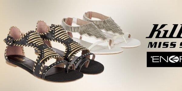 Dámske topánky Killah, Miss Sixty a Energie