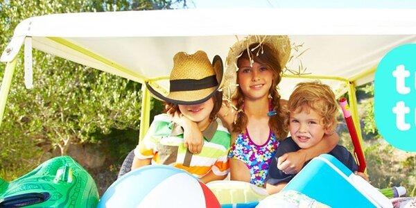 Tuc Tuc - detské farebné šatičky, tričká, šortky a plavky