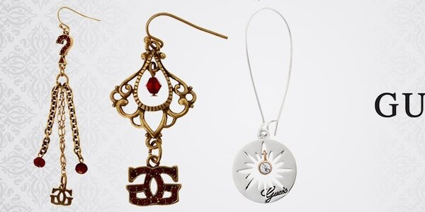 Dámske oceľové šperky Guess