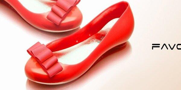Farebné balerínky, žabky a sandále Favolla