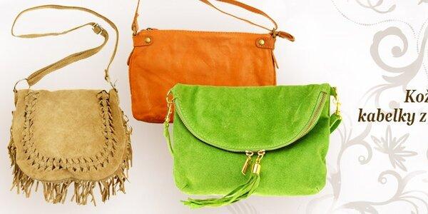 Kožené kabelky z Talianska