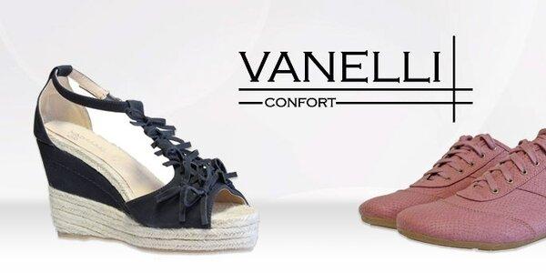 Dámska módna obuv Vanelli