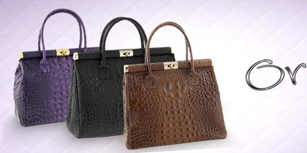 Dámske kožené kabelky Ore 10