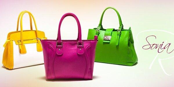 Dámske kožené kabelky Sonia Ricci