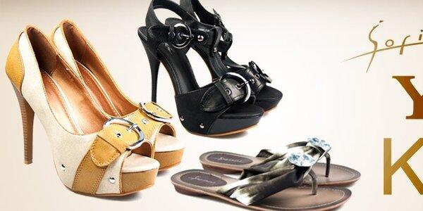 Dámske topánky KNK, Y & K a Sofiniel