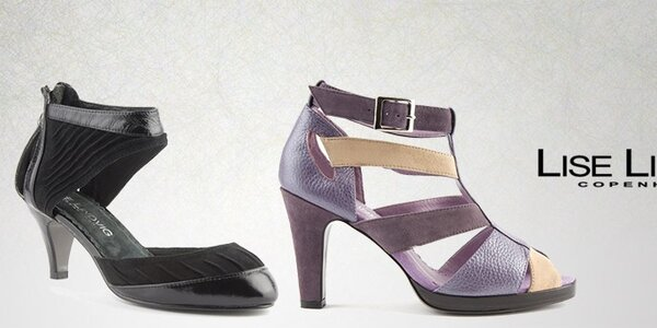 Dámské kožené sandále Lise Lindvig