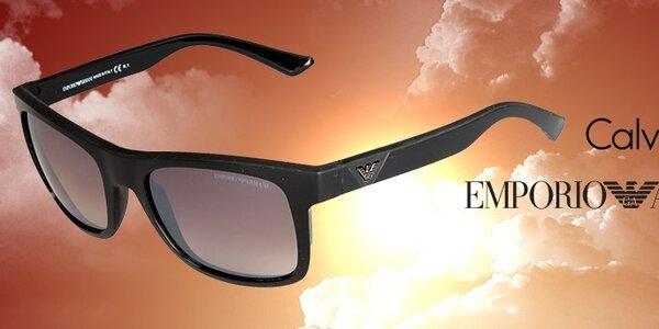 Dámske slnečné okuliare Calvin Klein a Emporio Armani