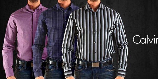Štýlové pánske oblečenie a doplnky Calvin Klein