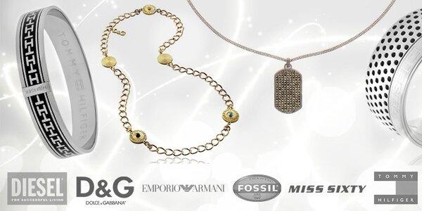 Krásne šperky rozmanitých značiek